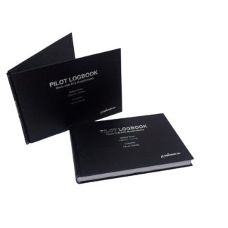 Black Pilot Logbook & Binder