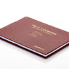 Pilot Logbook Binder Bordeaux