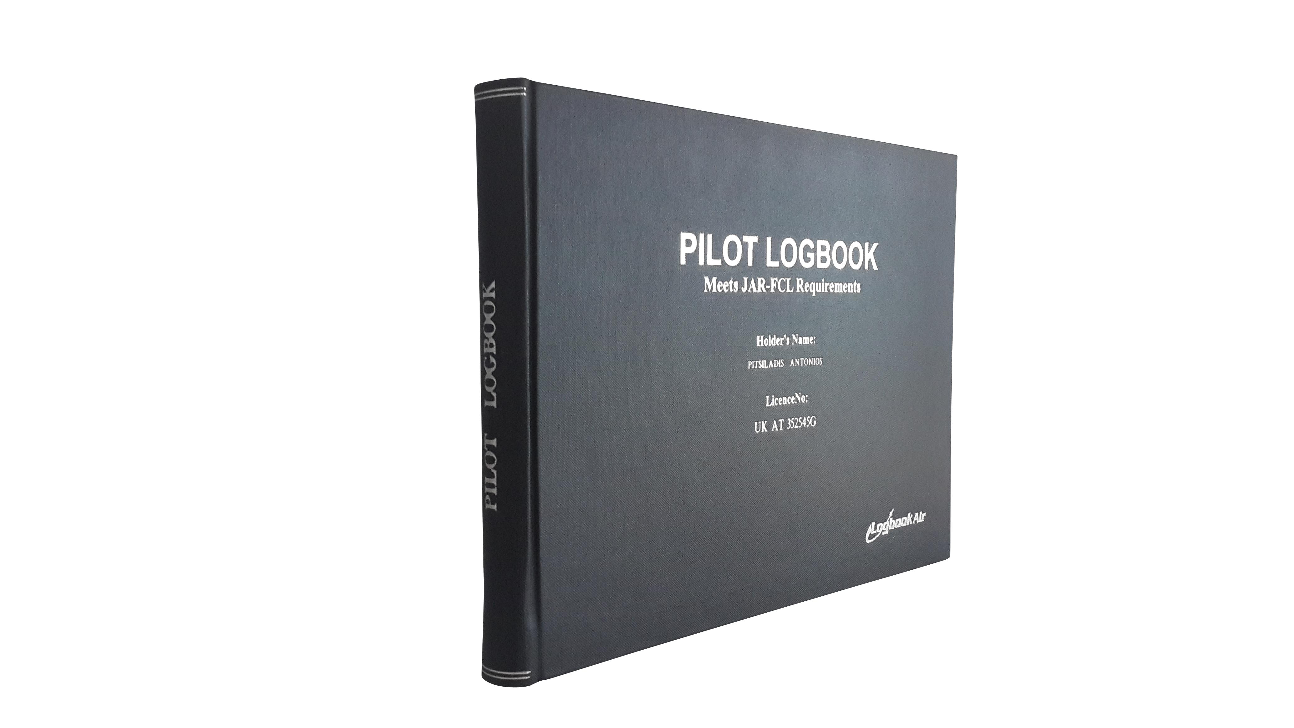 Professional Pilot Logbook by Logbookair